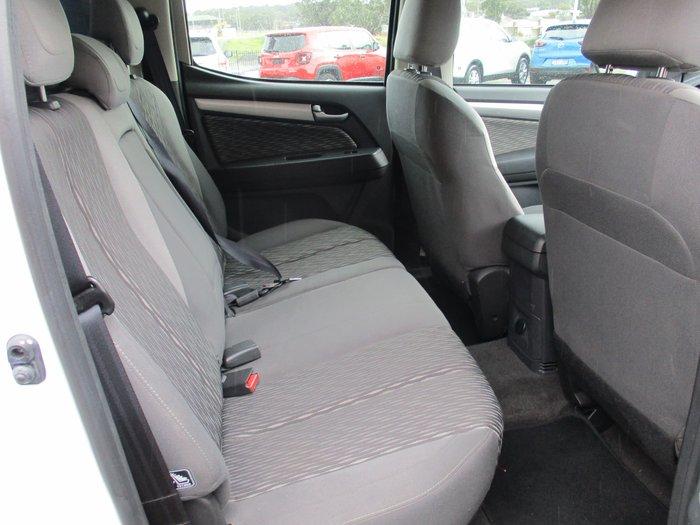 2016 Holden Colorado LT RG MY16 4X4 Dual Range Summit White