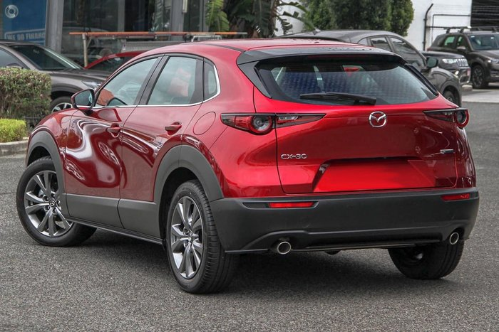 2021 Mazda CX-30 G25 Astina DM Series Soul Red Crystal