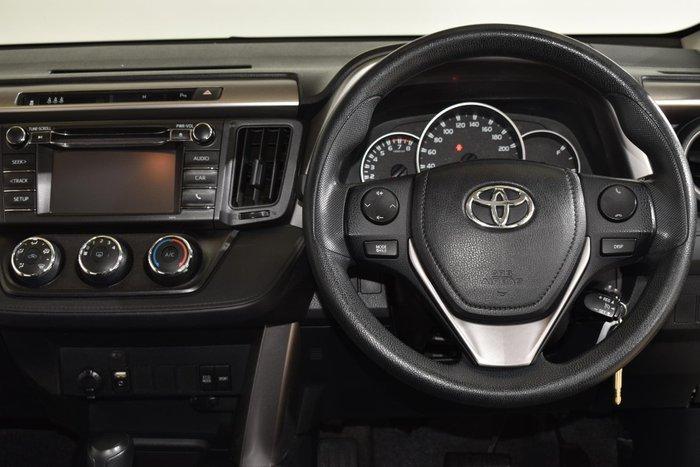 2017 Toyota RAV4 GX ZSA42R Silver