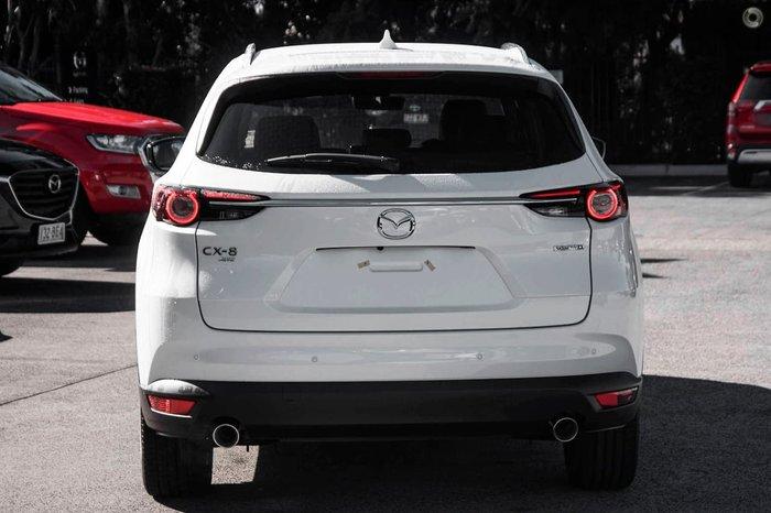 2021 Mazda CX-8 Asaki KG Series AWD Snowflake White Pearl