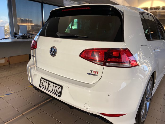 2014 Volkswagen Golf 103TSI Highline 7 MY15 Pure White