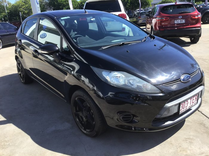 2013 Ford Fiesta CL WT Black Mica