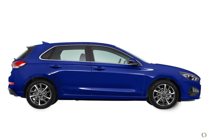 2021 Hyundai i30 Elite PD.V4 MY21 Intense Blue