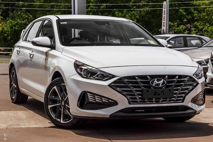 2021 Hyundai i30 Elite PD.V4 MY21 Polar White