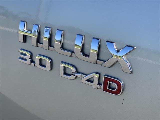 2013 Toyota Hilux SR KUN26R MY12 4X4 SILVER