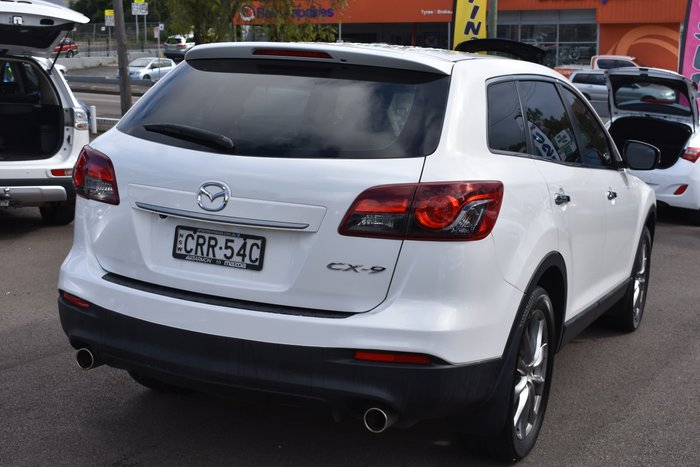 2013 Mazda CX-9 Luxury TB Series 5 Crystal White Pearl
