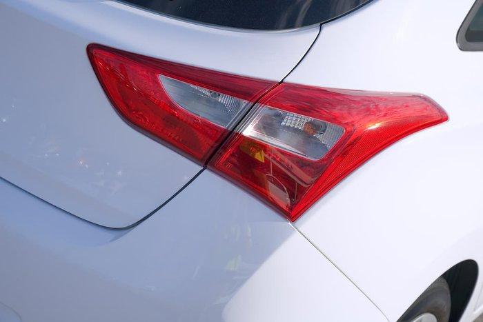 2014 Hyundai i30 Active GD3 Series II MY16 White