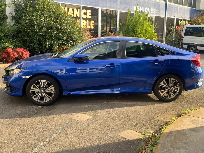 2020 Honda Civic VTi-L 10th Gen MY20 Brilliant Sporty Blue