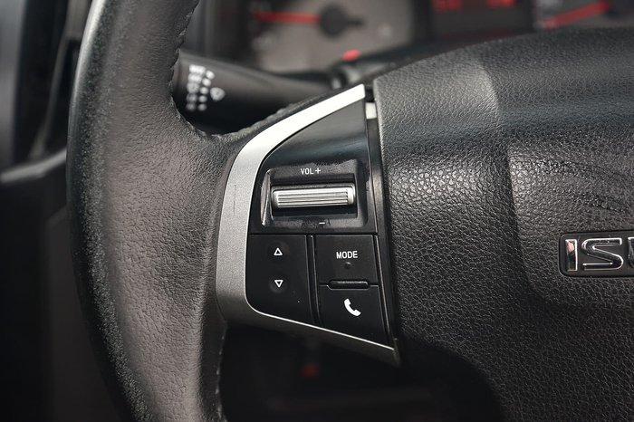 2015 Isuzu D-MAX SX MY15 White