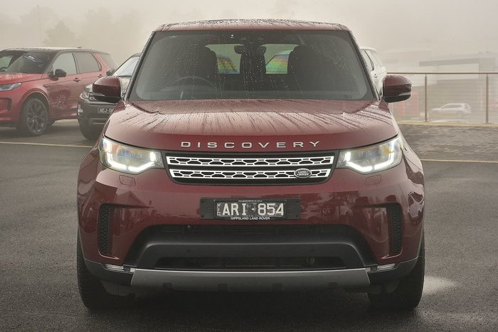 2017 Land Rover Discovery TD6 HSE Series 5 MY17 4X4 Dual Range Red