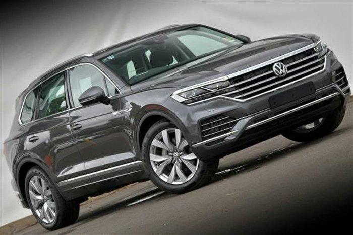 2021 Volkswagen Touareg 210TDI Elegance CR MY21 Four Wheel Drive Grey