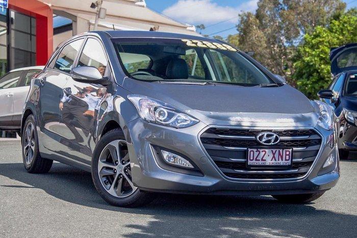 2016 Hyundai i30 Active X GD4 Series II MY17 Grey