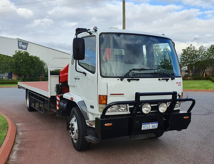 2003 FUSO FIGHTER WHITE