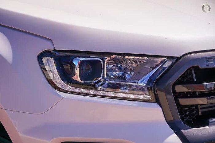 2021 Ford Ranger Wildtrak PX MkIII MY21.25 4X4 Dual Range Alabaster White