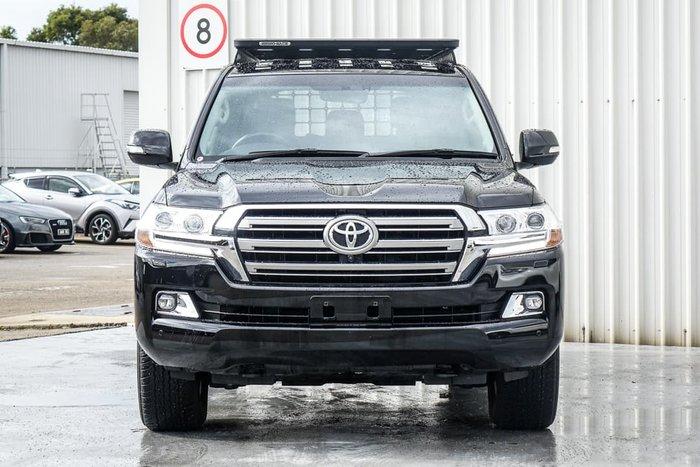 2020 Toyota Landcruiser VX VDJ200R 4X4 Dual Range Eclipse Black