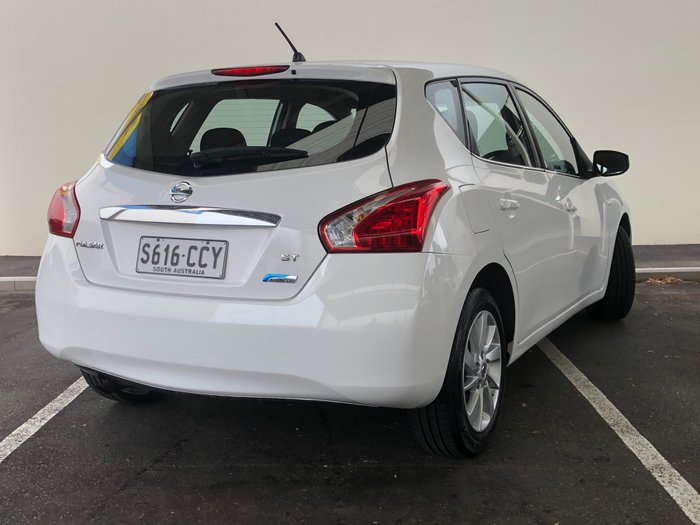 2014 Nissan Pulsar ST C12 Polar White