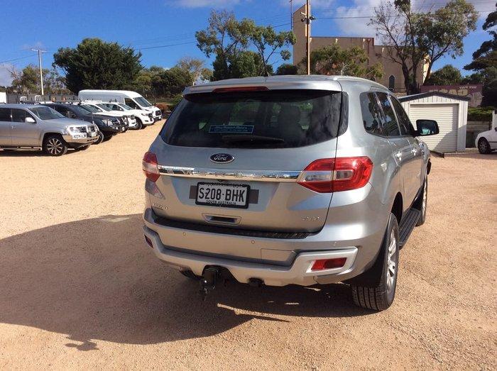 2015 Ford Everest Trend UA 4X4 Dual Range Silver