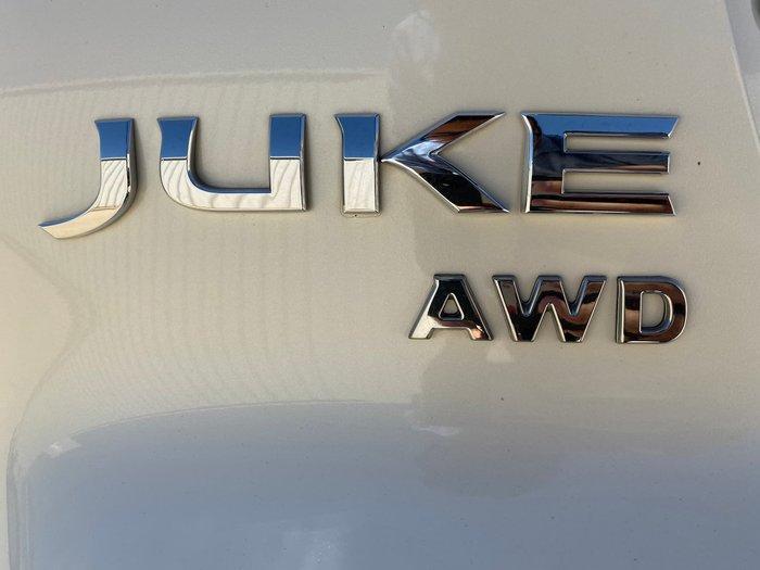 2018 Nissan JUKE Ti-S F15 Series 2 AWD Ivory Pearl