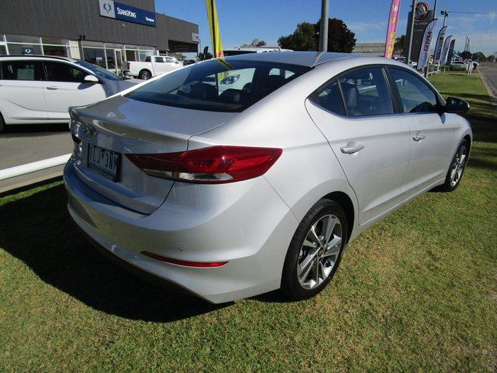 2017 Hyundai Elantra Elite AD MY18 Platinum Silver