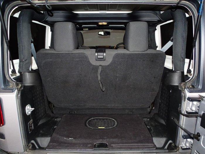 2017 Jeep Wrangler Sport JK MY17 4X4 Dual Range Billet Silver