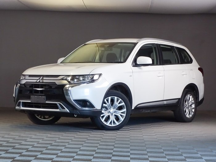 2018 Mitsubishi Outlander ES ZL MY18.5 AWD Silver