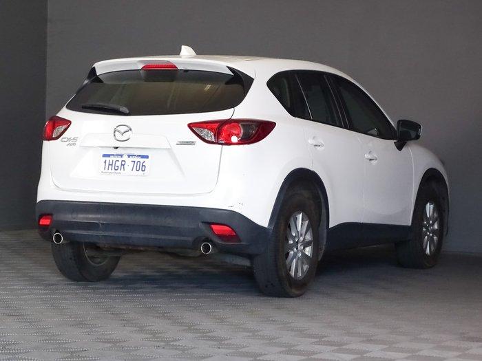 2014 Mazda CX-5 Maxx Sport KE Series MY14 AWD Crystal White Pearl