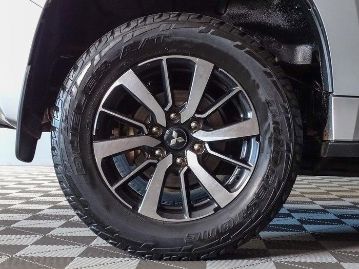 2018 Mitsubishi Pajero Sport Exceed QE MY18 4X4 Dual Range Silver