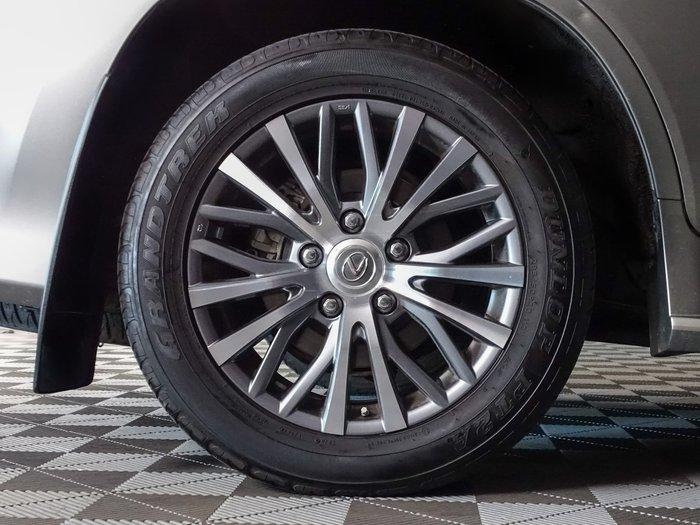 2018 Lexus LX LX570 URJ201R 4X4 Dual Range Titanium Silver