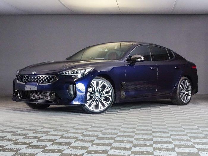 2017 Kia Stinger GT-Line CK MY18 Blue