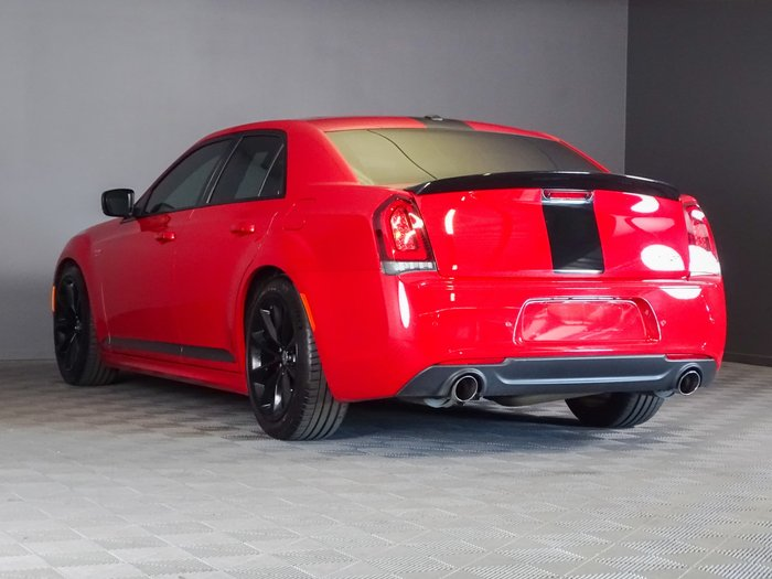 2018 Chrysler 300 SRT Hyperblack LX MY18 Red