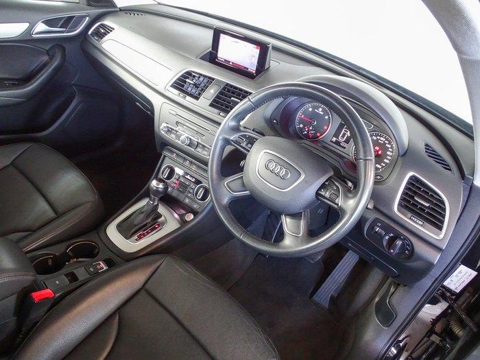 2016 Audi Q3 TDI Sport 8U MY16 Four Wheel Drive Black