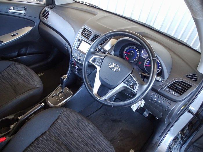 2019 Hyundai Accent Sport RB6 MY19 Silver