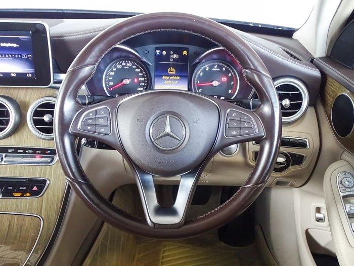 2014 Mercedes-Benz C-Class C200 W205 Blue