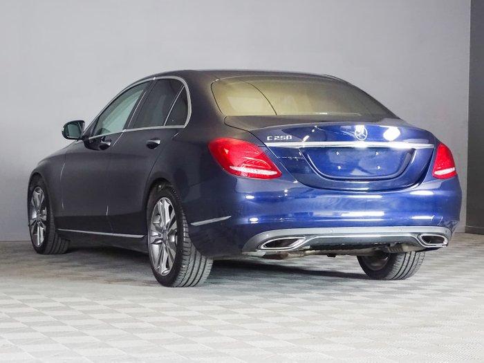 2014 Mercedes-Benz C-Class C250 W205 Blue