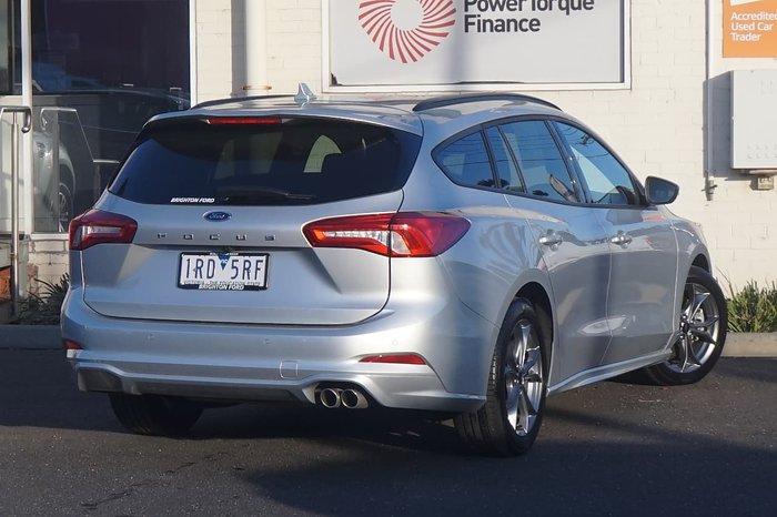 2019 Ford Focus ST-Line SA MY20.25 Silver