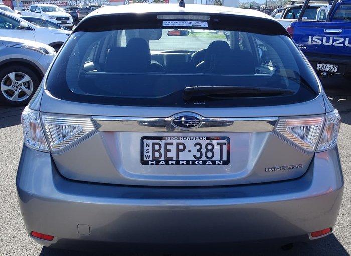 2007 Subaru Impreza R S MY07 AWD Grey