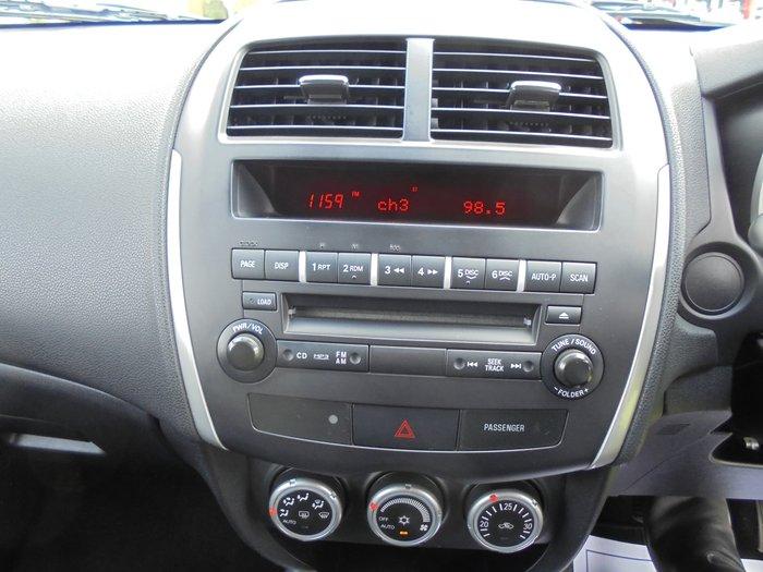 2011 Mitsubishi ASX 30th Anniversary XA MY12 Cool Silver