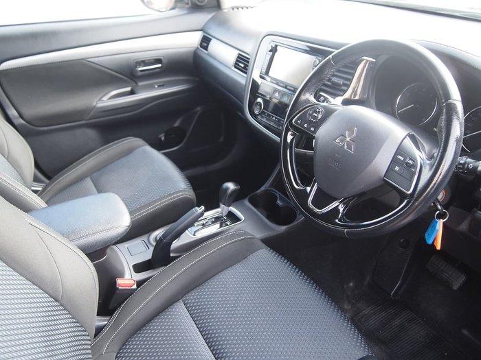 2015 Mitsubishi Outlander XLS ZK MY16 Black