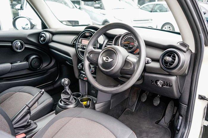 2015 MINI Hatch One F56 Pepper White