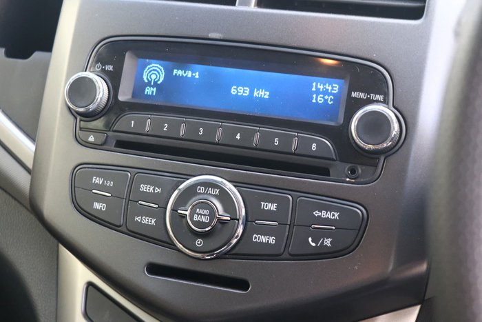 2014 Holden Barina CD TM MY14 Summit White