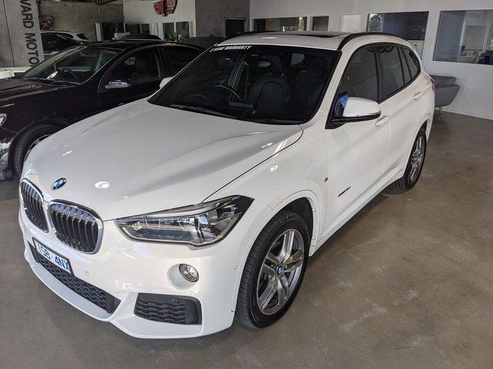 2016 BMW X1 sDrive18d F48 Alpine White