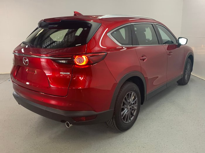 2021 Mazda CX-8 Touring KG Series Soul Red Crystal