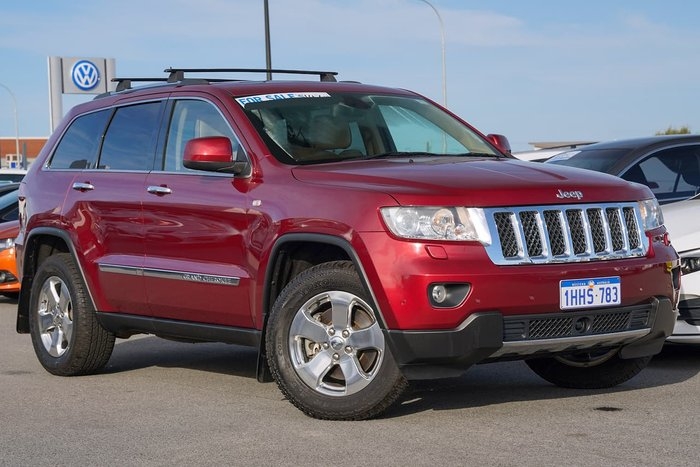 2012 Jeep Grand Cherokee Overland WK MY12 4X4 Constant Red