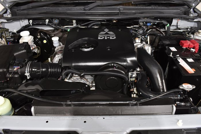 2013 Mitsubishi Triton GLX MN MY13 4X4 Dual Range Cool Silver