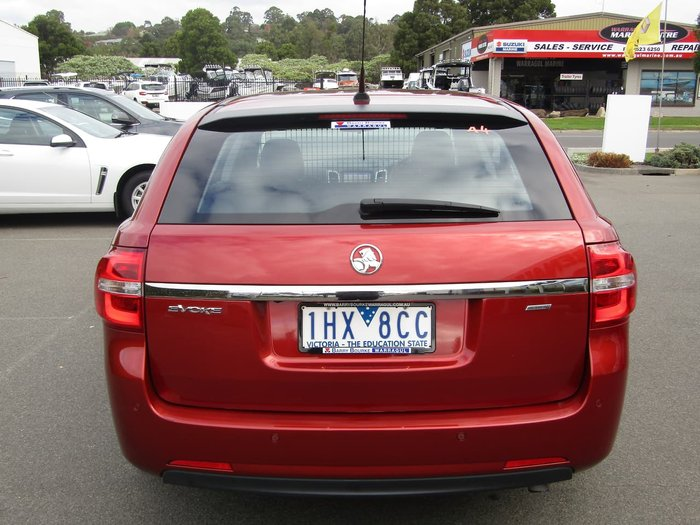 2016 Holden Commodore Evoke VF Series II MY16 Red