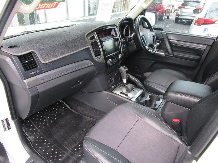 2017 Mitsubishi Pajero GLS NX MY17 4X4 Dual Range White
