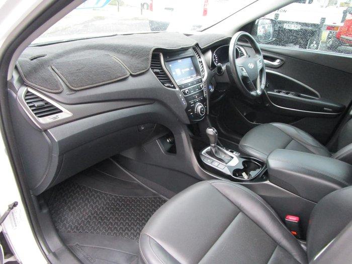 2015 Hyundai Santa Fe Elite DM2 MY15 4X4 On Demand White