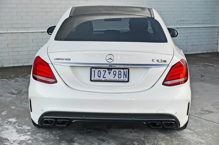 2015 Mercedes-Benz C-Class C63 AMG S W205 White
