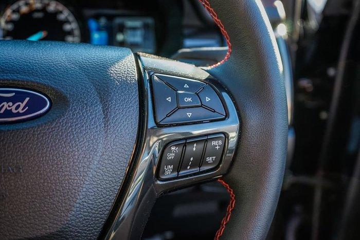 2020 Ford Ranger FX4 PX MkIII MY20.25 4X4 Dual Range Shadow Black