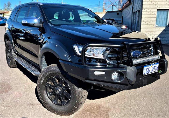 2019 Ford Everest Titanium UA II MY20.25 4X4 Dual Range Shadow Black